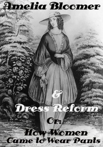 Amelia Bloomer Originator of the New Dress Antique Print 1851
