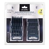 Andis 7 Piece Master Premium Metal Comb Set Hair Clipper Attachments Guides 33645