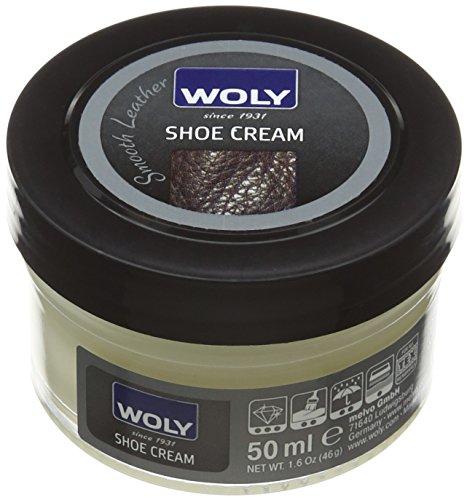 Woly Shoe Cream, Unisex-Erwachsene Schuhe Pflege Zubehör Lemon