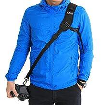 Landto Quick Release Camera Shoulder Strap Cross Body Sling Shoulder Belt Strap for all kinds of DSLR SLR Cameras like Canon Nikon Sony Pentax Olympus