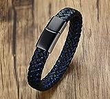 VNOX Medical Alert ID Type 1 Diabetes Blue&Black