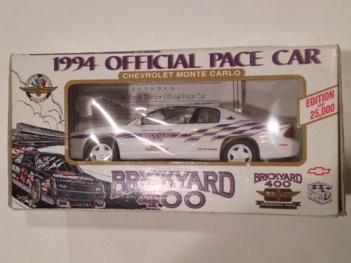 Discount 1994 Brickyard 400 Official Pace Car : Limited Edition Plastic Promo