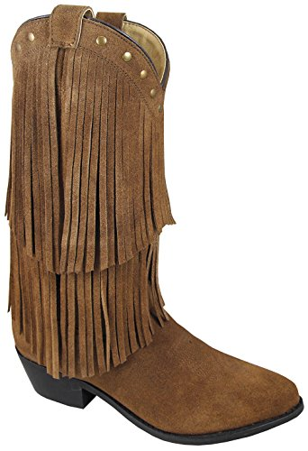 Western Fringe Smoky Womens Wisteria Tan Boot Double WgWB4Fq