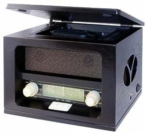 Roadstar HRA-1520MP - Radio estéreo (MP3/CD, AM/FM, mando a distancia)