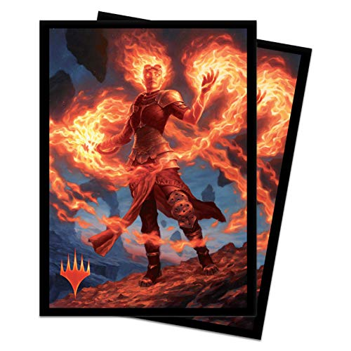 (Bundle: Magic: The Gathering - Core Set 2020 Chandra (M20 100+ Deck Box & 100 Protector Sleeves))
