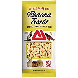 TMF Banana Treat for Small Pets & Birds , .25 lb