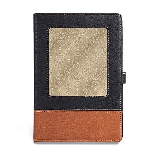 Planner NoteBook,Beige,A5(6.1