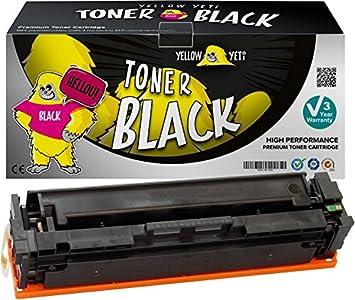 Yellow Yeti 201X CF400X Negro 2800 páginas Tóner Compatible para ...