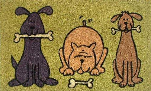Calloway Mills 120321729 Doggie Fun Doormat, 17' x 29'