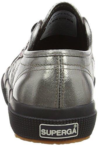 deporte Zapatillas Grey mujer de Gris de Black Superga para satén Grey FAxqpwa6nW