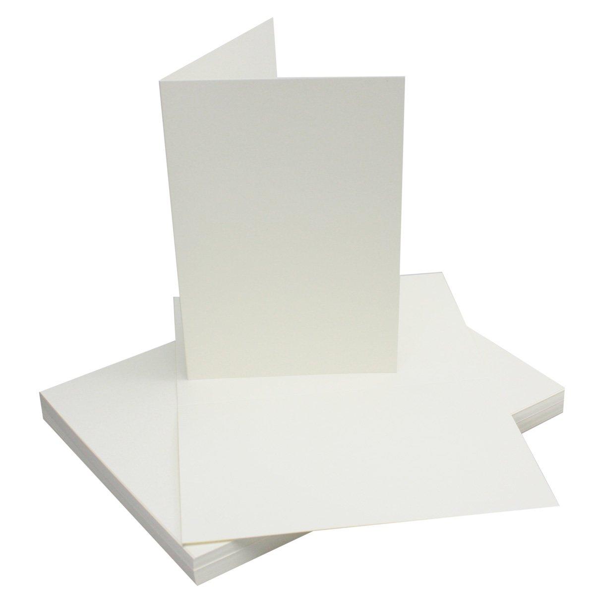 250x Falt-Karten DIN A6 Blanko Doppel-Karten in Hochweiß Kristallweiß -10,5 -10,5 -10,5 x 14,8 cm   Premium Qualität   FarbenFroh® B078W73N9H | Outlet Online  c0ea3f