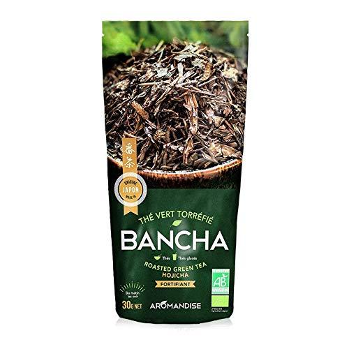 Te verde organico japones Bancha Hojicha 30 g