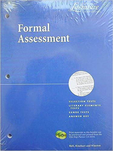 Elements Of Literature Third Course Teaching Resources Et