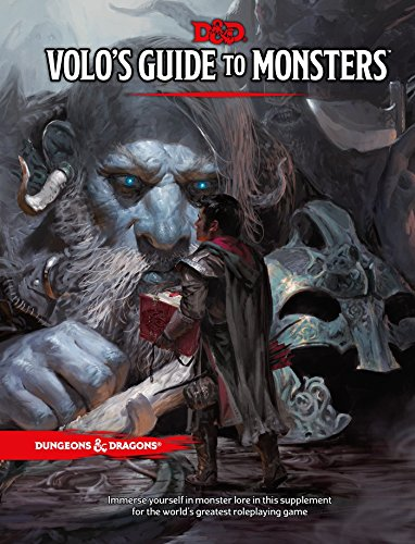 Book cover from Volos Guide to Monsters (Dungeons & Dragons) by Wizards RPG Team