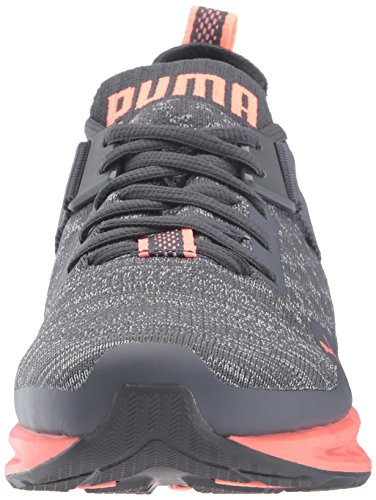 Black Wn quiet Puma Evoknit Lo Periscope Women's Shade Ignite Sneaker quarry qSxxB1