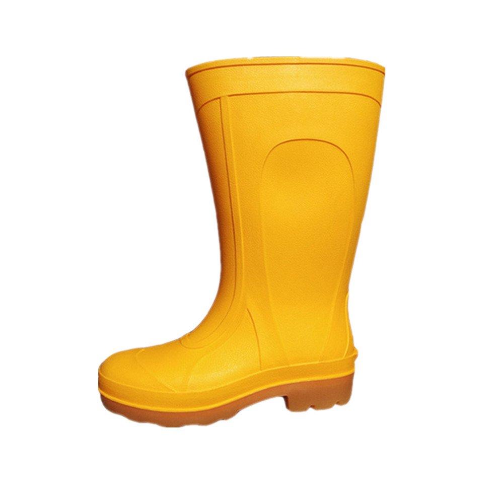 Erwachsene Herren Gummistiefel Regen Wasserdicht Angeln Schuhe Gelb (39 EU) hxejJOGz