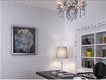 Wandtapete Vliestapete Blau Weisse Ziegel Wohnzimmer Schlafzimmer
