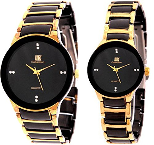 49657bd1ab2 Buy Iik Collection Watches Analogue Black Dial Men s And Women  Watch -  Iik013M-1002W Online at Low Prices in India - Amazon.in