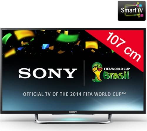 SONY BRAVIA KDL-42W705B - Televisor LED Smart TV + Kit soporte mural n°2 + cable HDMI: Amazon.es: Electrónica