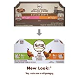 NUTRO PERFECT PORTIONS Grain Free Natural Adult Wet Cat Food Cuts in Gravy Real Turkey and Real Chicken Recipes Variety Pack, (12) 2.6 oz. Twin-Pack Trays Larger Image