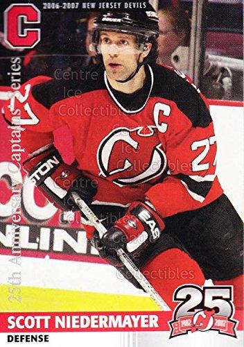 ((CI) Scott Niedermayer Hockey Card 2006-07 New Jersey Devils Team Issue 38 Scott Niedermayer)