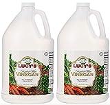 Lucy s Distilled White Vinegar, 1 Gallon 128oz. (Pack of 2)