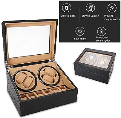 Salmue Rotación de la caja de reloj, caja Watch Winder para 01 #: Amazon.es: Joyería
