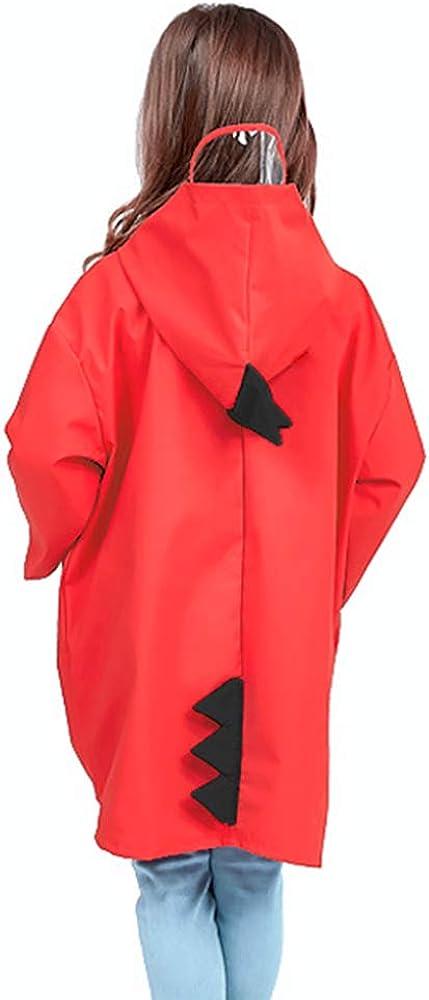 Toddler Baby Boy Girl Raincoat for Kids Dinosaur Rain Jacket