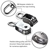 Rocaris 4 Pack M50 Lifting Single Pulley Roller