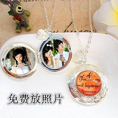 Generic Photo_ necklace pendant _put_with_the_money_ men man boy _head_ accessories pendant necklace _Valentines_ Day gifts _to_send_her_boyfriend_ pendant necklace student _influx_of_ people