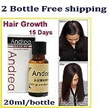 Best Andrea Hair Growth Treatments - 2x Andrea Hair Growth Essence Hair Loss Treatment Review