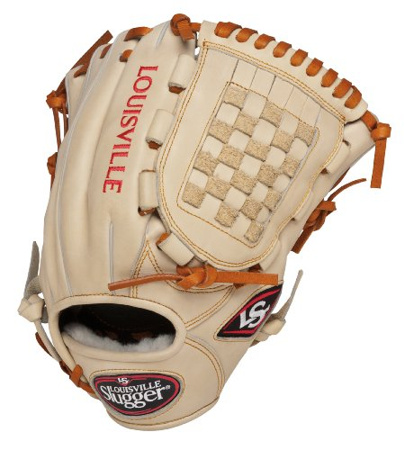 Louisville Slugger 12-Inch FG Pro Flare Baseball Infielders Gloves, Cream, Left Hand Throw ()
