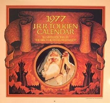 1977 J.R.R. Tolkien Calendar, Brothers Hildebrandt
