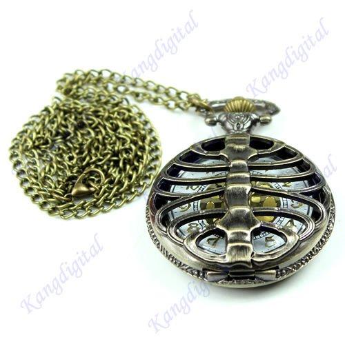 Pocket Watches Bronze Tone - 5
