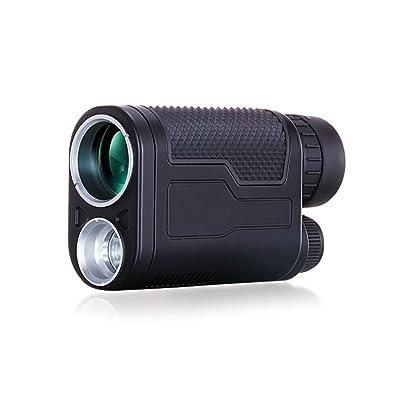 LWFB 8 * 32 / Télescope monoculaire / Illumination / Grossissement élevé / FMC Membrane verte à large bande / HD Vision nocturne / Télescope ( Couleur : Noir )