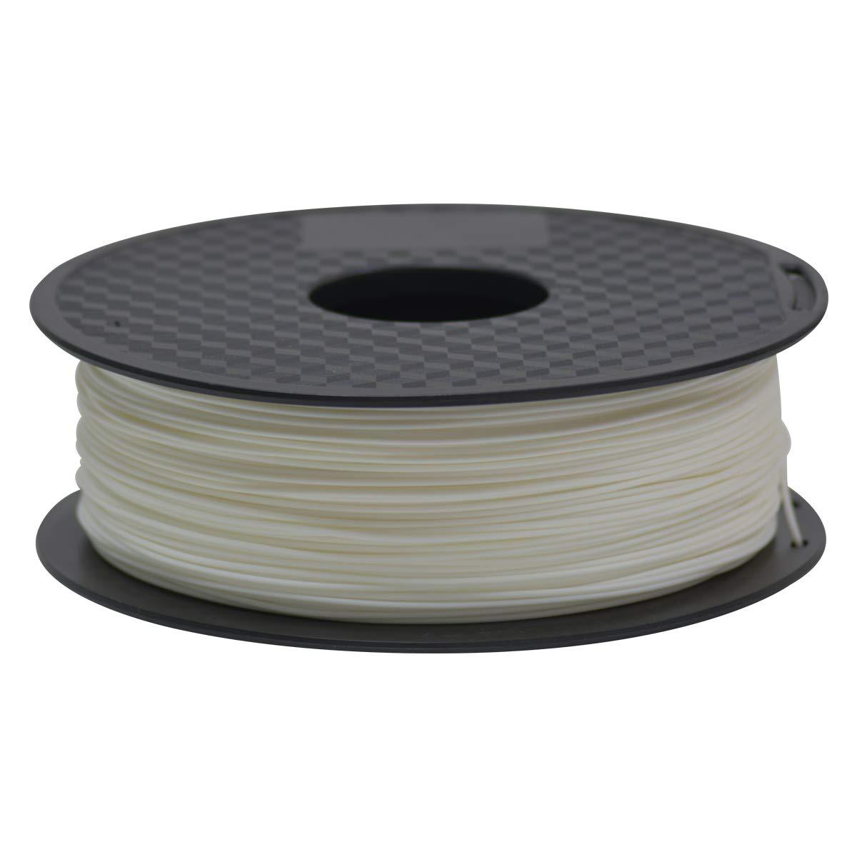 3D Drucker filament 1.75mm GIANTARM Filament ABS 3D Filament 1kg Rolle for 3D Drucker Grauwei/ß.