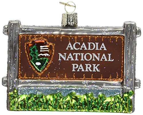 - Old World Christmas Ornaments: Acadia National Park Glass Blown Ornaments for Christmas Tree
