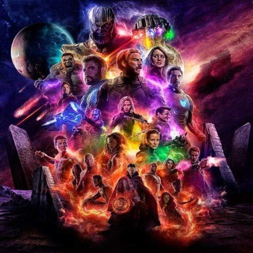 【期間限定】 アベンジャーズ B07QBF62ZJ エンドゲーム End Game アベンジャーズ Avengers 4 4 End Game シルク製 ポスター B07QBF62ZJ, HIRO CLOTHING:dc49bdde --- arianechie.dominiotemporario.com