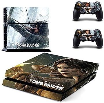 YHC Tomb Raider Wrap Skin Decal Sticker Etiqueta for Playstation 4 ...