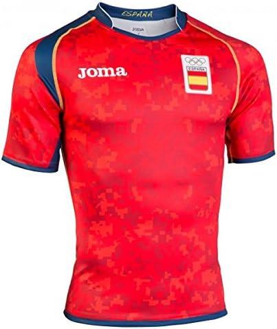 Joma FR.101011.16 Camiseta, Hombre, Rojo, XS: Amazon.es: Deportes ...