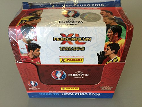 uefa road to euro 2016 adrenalyn xl card box by panini 50 packs 300 cards in the uae see. Black Bedroom Furniture Sets. Home Design Ideas