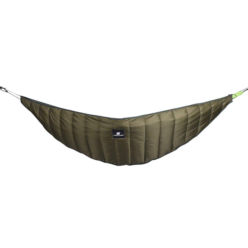 Sharplace Underquilt Invierno Ultraligero Bajo Manta Edred/ón Pieza de Hamaca para Acampar Aire Libre