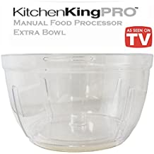Kitchen King Pro Manual Food Processor Extra Bowl