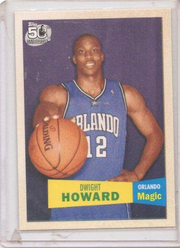 2007-08 Topps 1957-58 Variations Basketball Card # 14 Dwight Howard