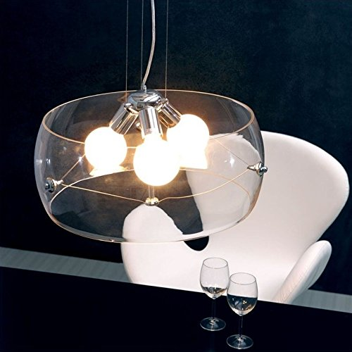 - Zuo 50106 Asteroids Ceiling Lamp, Clear