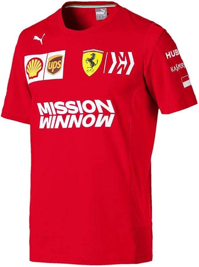 Branded Sports Merchandising B V Scuderia Ferrari 2019 F1 Charles Leclerc Team Driver T Shirt Red Red Xxl Bekleidung