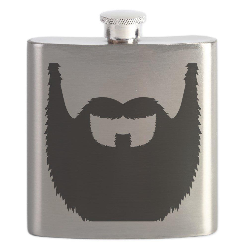 【人気ショップが最安値挑戦!】 CafePress – Mustache_フル_ Beard B01IUFJAM0 – ステンレススチールフラスコ Beard、6オンスDrinkingフラスコ – B01IUFJAM0, お見舞い:e22489de --- a0267596.xsph.ru