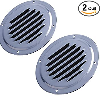 Amazon.com: 2pcs Rejilla de ventilación Rejilla de ...