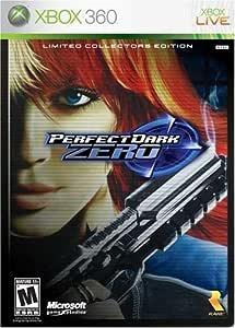 PERFECT DARK ZERO LIMITED COLLECTORS EDITION - XBOX360