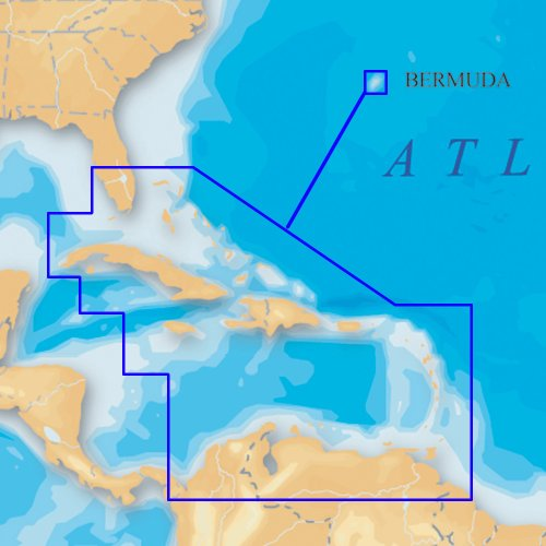 Navionics Platinum Caribbean and Bermuda on CF